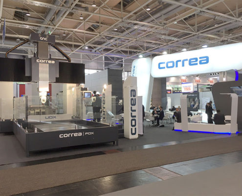 Messestand Correa EMO 2017