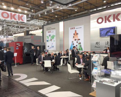 Messestand OKK EMO 2017