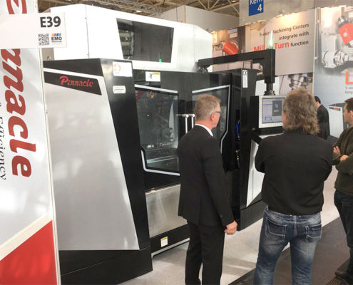 Pinnacle Messestand EMO Hannover 2017